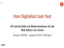 Vortrag Gregor Middell