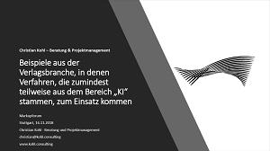 Vortrag Christian Kohl