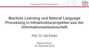 Vortrag Prof. Dr. Kai Eckert